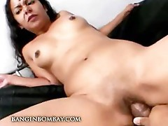 Indian babe two cock sucking