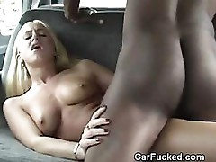 Interracial In Backseat