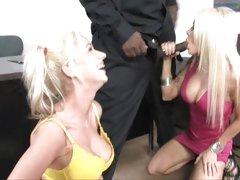 Tarts Helly Mae Hellfire & Kaylee Hilton share this rod
