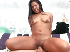 cock humping latina Emy Reyes filing her tight wet twat