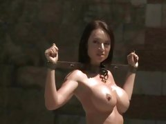 Franceska Jaimes paraded through the streets naked