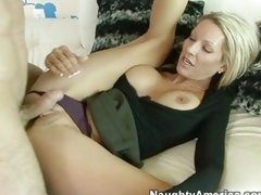 Emma Starr doesn't have to be told to open up for the cock she's ready