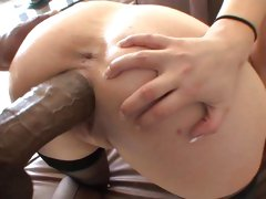 Cock whore Katie Kox is rutted up her wet snatch