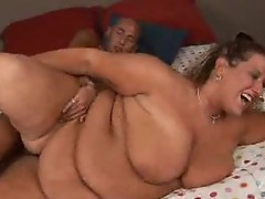 Bbw Lilly acquires Nasty cumshot