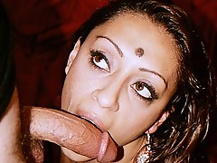 Horny indian three-some