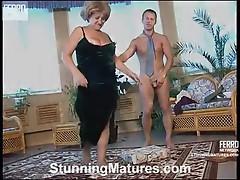 Louisa and adrian impressive Mom on clip