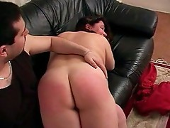 Fat wife spanked
