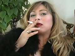 femdom and smoking