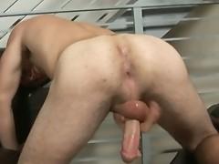 Nick Stuart wanking his fine college dick
