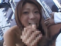 Juri wakatsuki naughty asian chick sucking