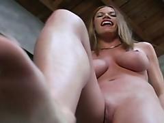Trample factory femdom video