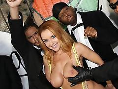 Janet Mason and big black dicks