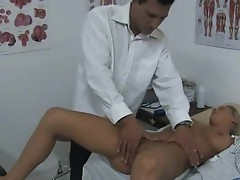 Bree receives a thorough exam
