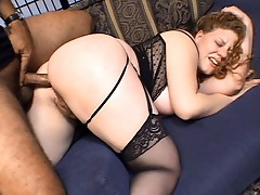 Large obese Cream pie #02
