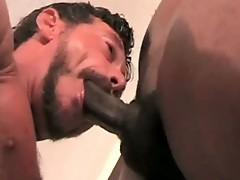 Kamrun and Ray Dalton in horny gay porn