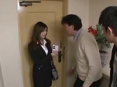 Aiko Hirose Japanese babe gives hot blowjob