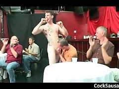 Amazing stripper gets cock sucked