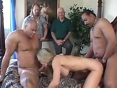 Wife laurie's interracial 3some