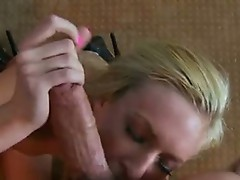 Cum lust wench VicToria white Merits a hot ooze of cum on her excited Mouth