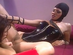 Lascivious lezbo Sydnee Steele heat up with her girlfriend for an fantastic actionion