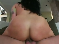 Smutty hawt brunette KaTrina kravin sits Moist wazoo on throbbing cock riding hard