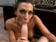 Dirty brunette Rachel Starr thumps a Monstrous ramrod in this chabr Lusty Mouth