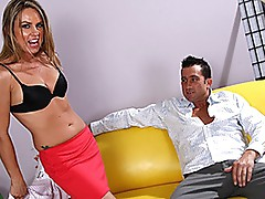 Milf Amanda blow desires a creamy load