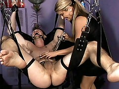 Mistress nicollete's bdsm ball torment