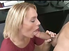 Smutty rod paRamour Jamey Janes receives her Mouth Busy sucking a hard Man Lollipop