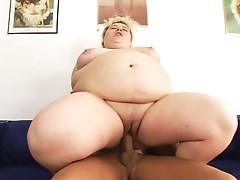 Large overweight Cream pie #10