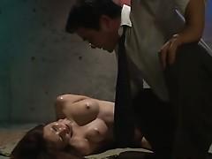 Asian model has hot hard rough sex