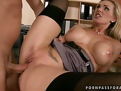 Scorching lover Tanya Tate gets the ideal fuck she's been waiting for