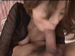Cute young babe enjoys hot cum