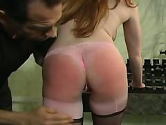 spanking scene
