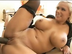 Blonde pornstar Shyla Stylez gets the ideal fuck this babe always craved for