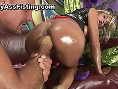 Filthy whore ass riding dick and gets