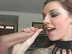 Rod paramour Chayse Evans pLeases a Monster boner in her calMing warm Mouth