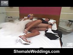 Ferrari hot shemale bride