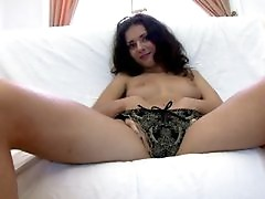 Adorable brunette russian honey Sonya in a 3some