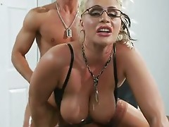 Burning sexy Sadie Swede gets anally drilled just the way she craved for