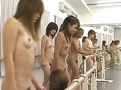 Huge japanese lesbian gangbang