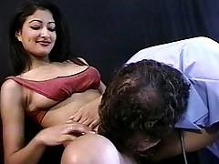 Claudia indian vagina licked