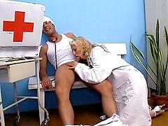 Nurse Rianna mouth drilled