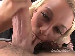 Blonde hotty briana blair fucks monster boner really good
