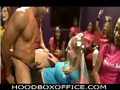 Amateur babes enjoying nasty big cock studs filthy show
