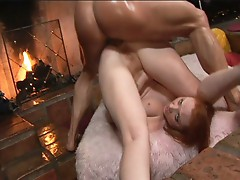 Vixen fulfills her deepest desire by this huge cock