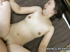 Amateur japanese woman riding a hard horny dick