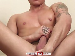 Tate ryder pulls out his cock to jerk