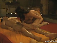 Sensual and erotic prostata massage