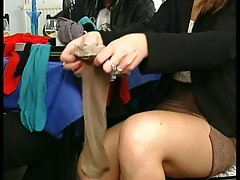 Sexy waitress hot sex
